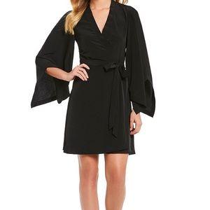 H Halston - Kimono Style Wrap Dress